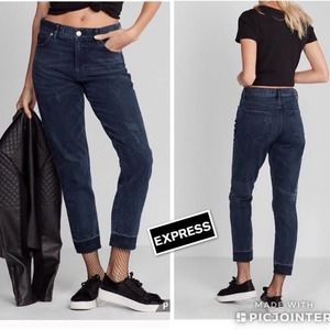NEW Express Vintage Skinny High Rise Jeans Size 10